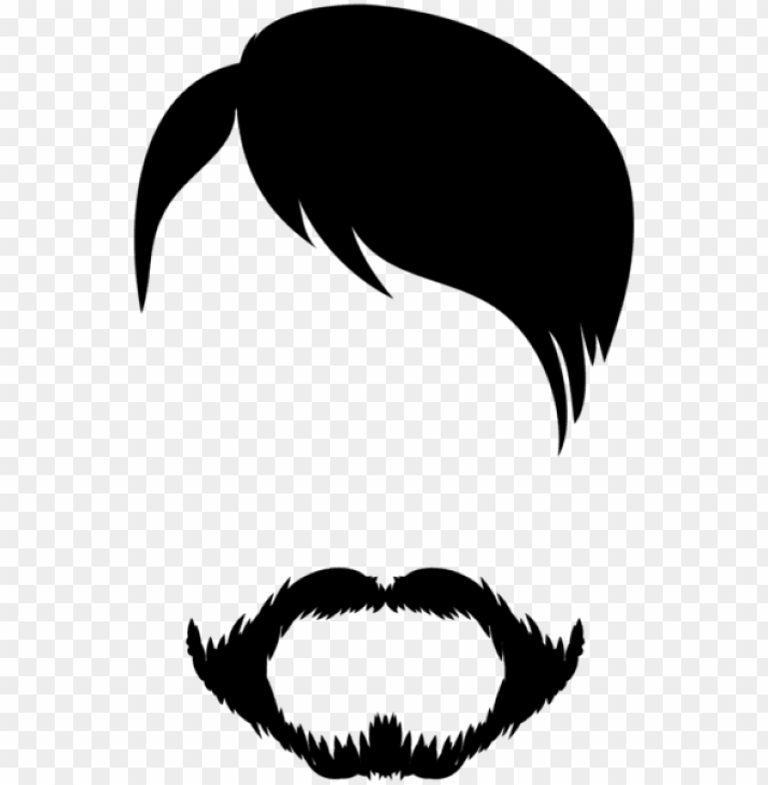 free png download male hair and beard png clipart png.