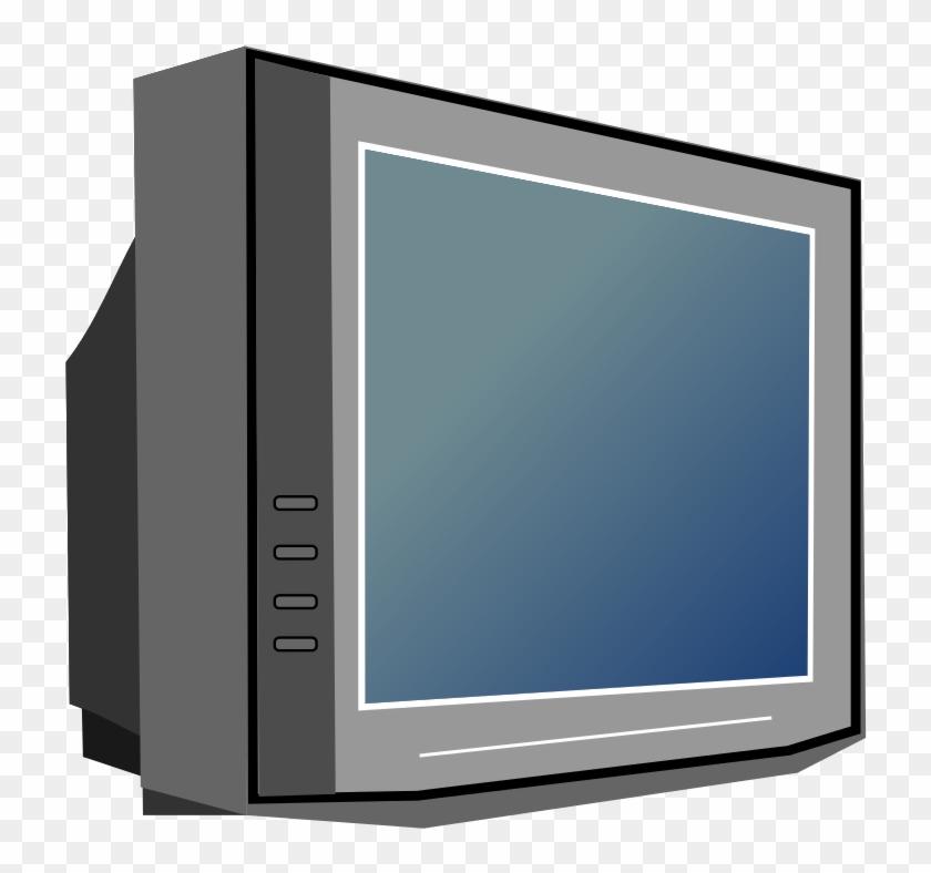 Tv Television Clip Art 2 Image.