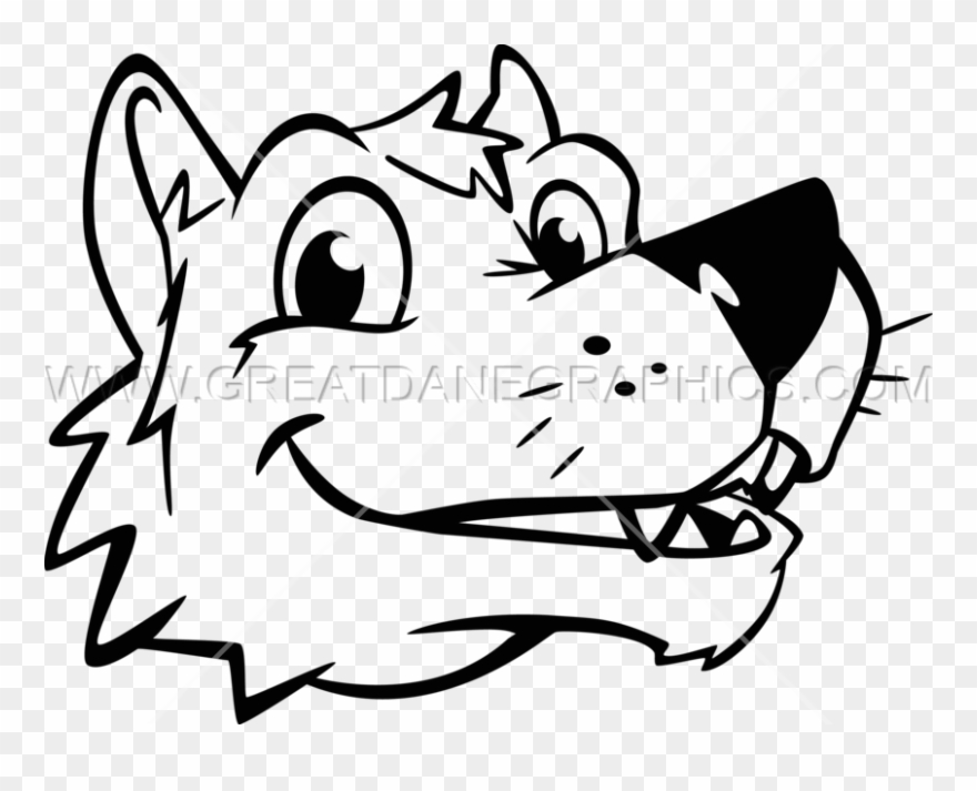 Coyote Clipart Head.