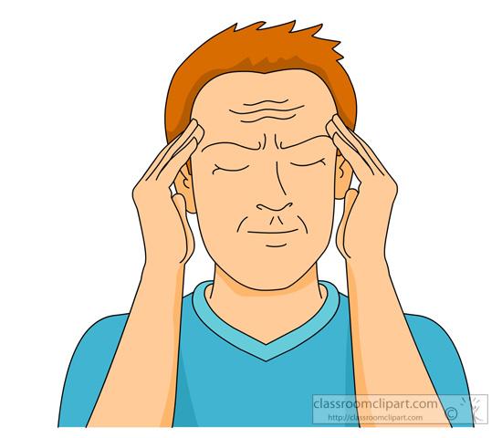 Free Clipart Headache.