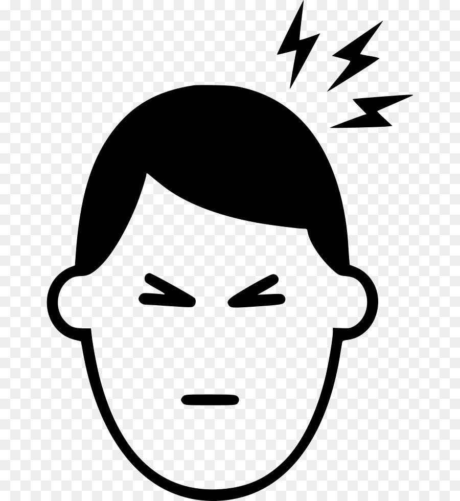 Headache Cartoon clipart.
