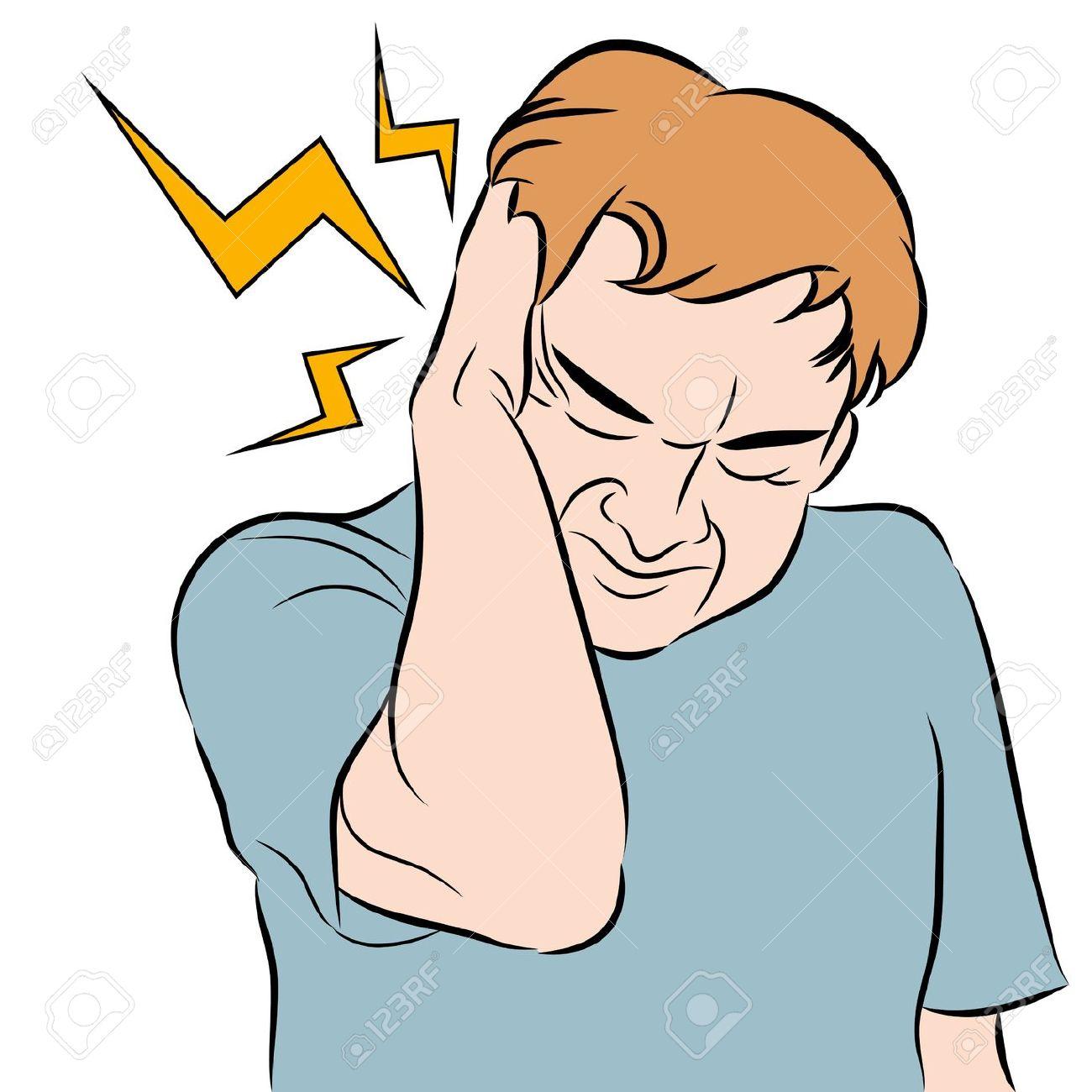 A Headache Clipart.