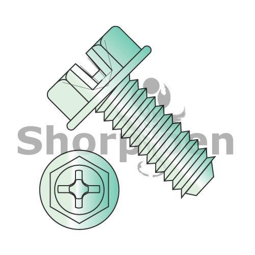 Combo Slot/Phillips Ind Hex Washer Header Machine Screw.