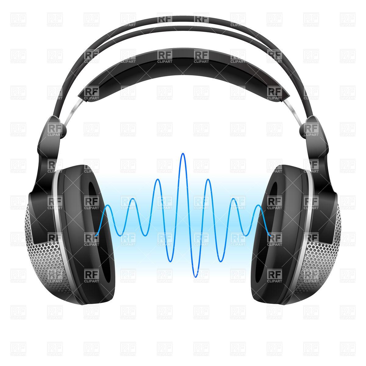Large DJ headphones Vector Image #911.