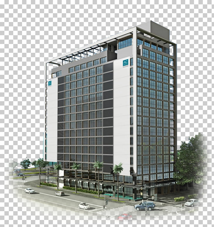 Commercial building Facade Headquarters Mixed.