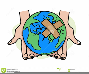 Heal The World Clipart.