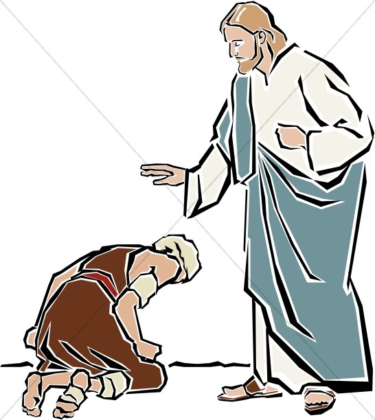Jesus Heals the Leper.