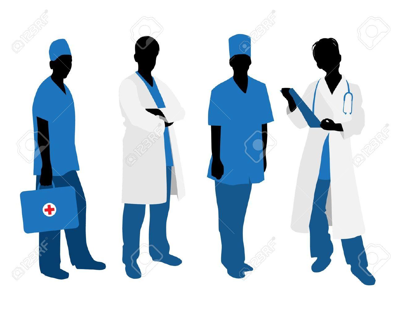 Healthcare Professionals Clipart.