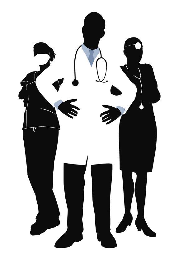 Health professions clipart.