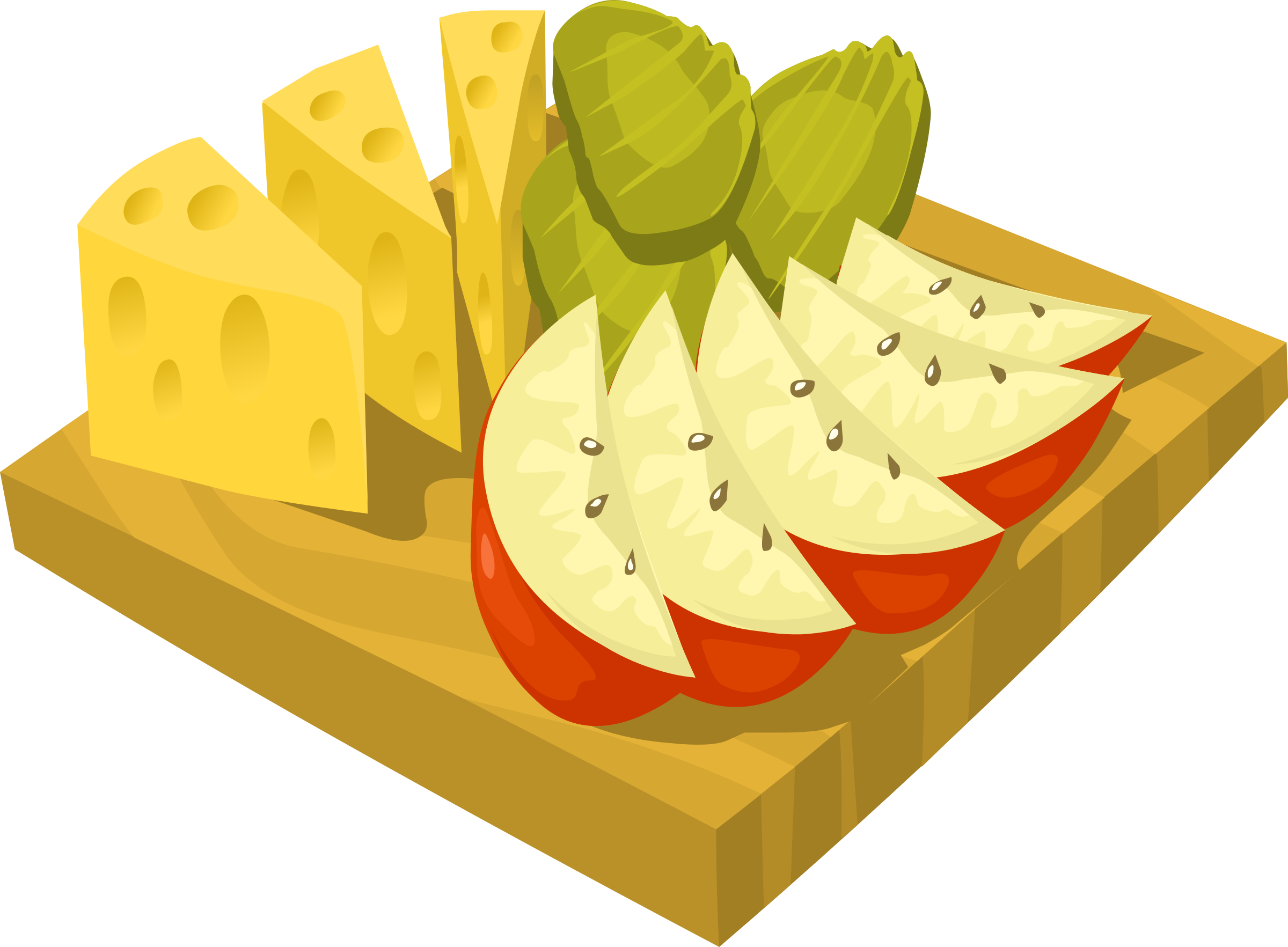 Healthy snack clipart 6.