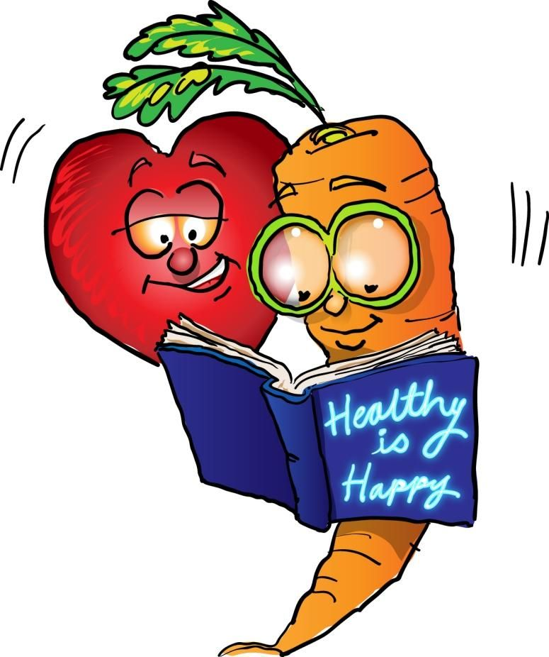 Health and Wellness Clip Art.