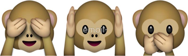 Monkey Emoji.