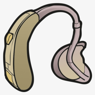 Free Hearing Aid Clip Art with No Background.