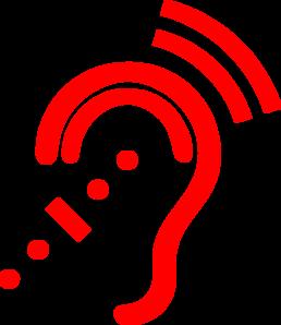 Hearing Aid Clipart.