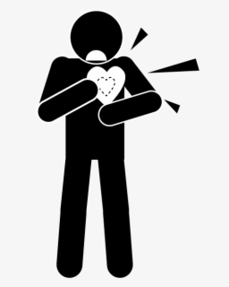 Free Heart Attack Clip Art with No Background.
