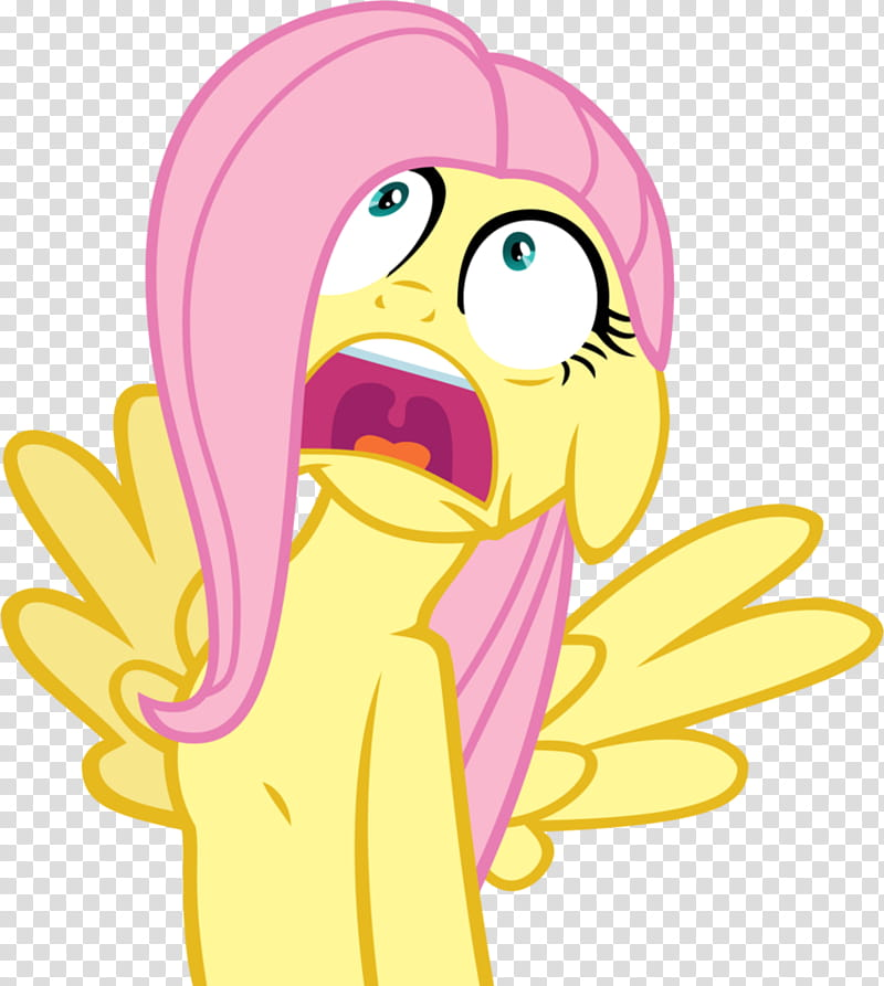 Fluttershy Heart Attack, My Little Pony character.