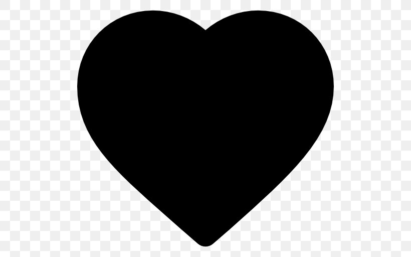Heart Love Clip Art, PNG, 512x512px, Heart, Black, Black And.