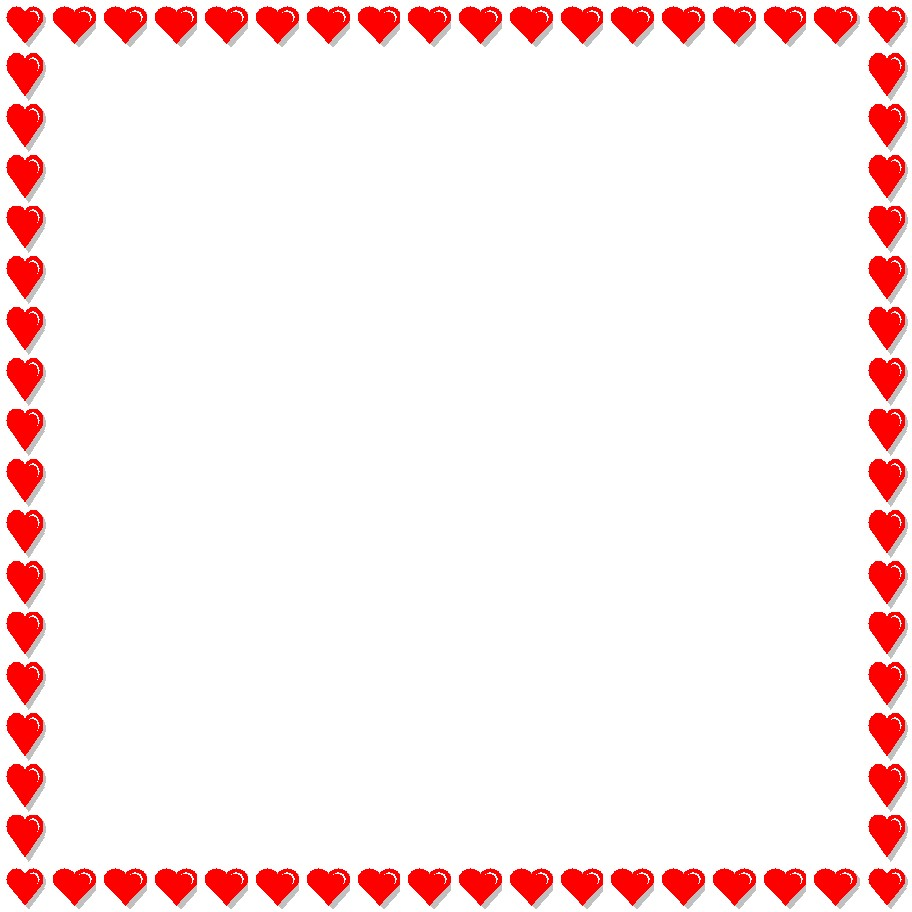 Heart Page Border.