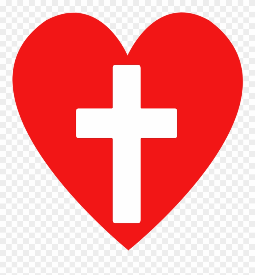 Download High Quality cross clipart heart Transparent PNG.