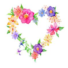 Free Flower Heart Cliparts, Download Free Clip Art, Free.