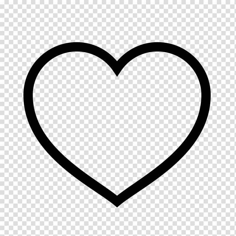 Heart Symbol Computer Icons , point line symbol transparent.
