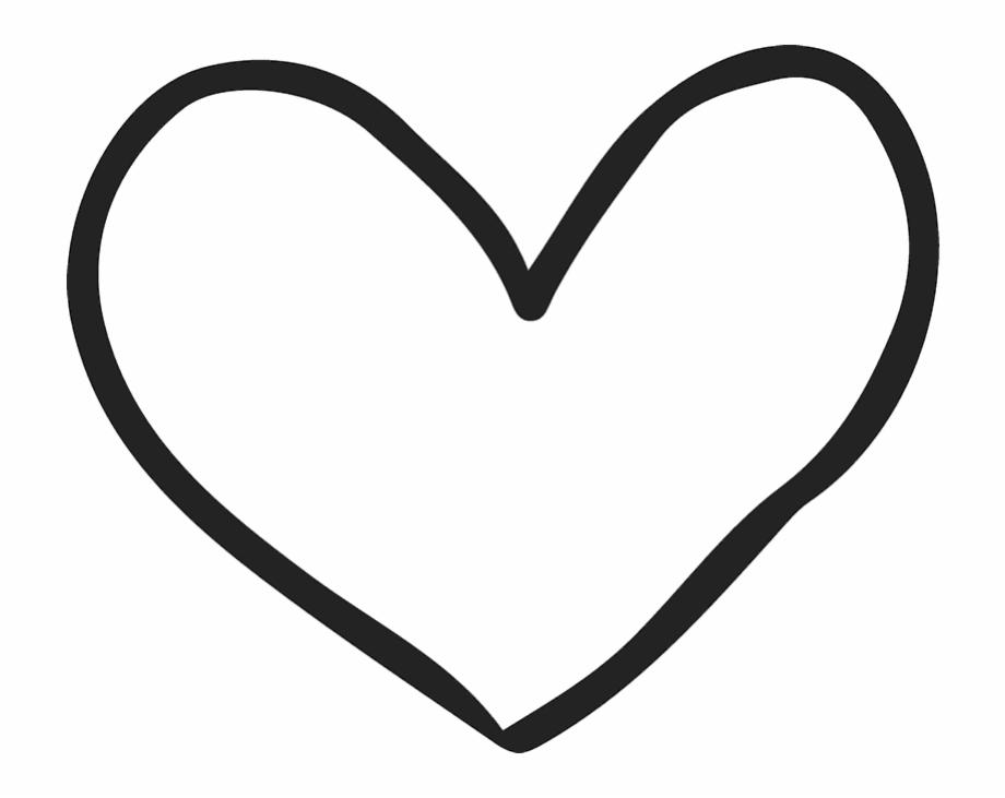 Hand Drawn Heart Clipart.