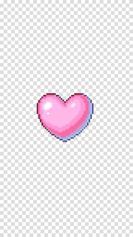 Pink M RTV Pink, Heart tumblr transparent background PNG.