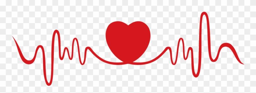 Heartbeat With Heart For Free On Mbtskoudsalg Png Mbtskoudsalg.
