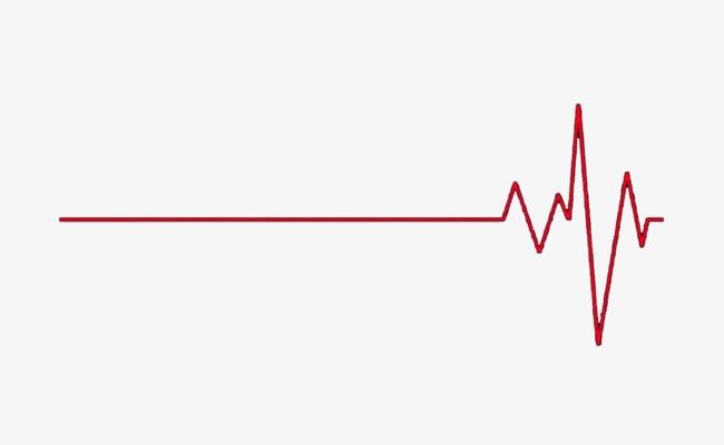 Heart Rate Chart, Vector Material, Heart Rate PNG Transparent Image.