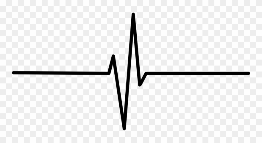 Line Clipart Heartbeat.
