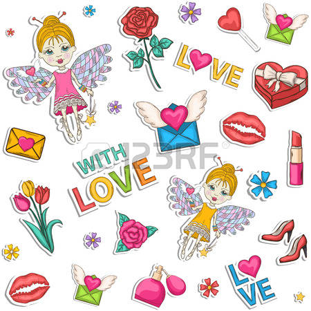 95,185 Hearts And Flowers Stock Vector Illustration And Royalty.