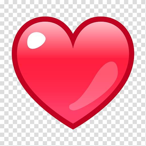 Heart Love Emoji Sticker Symbol, viber transparent.