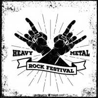 Heavy metal clip art free vector graphic art free download.
