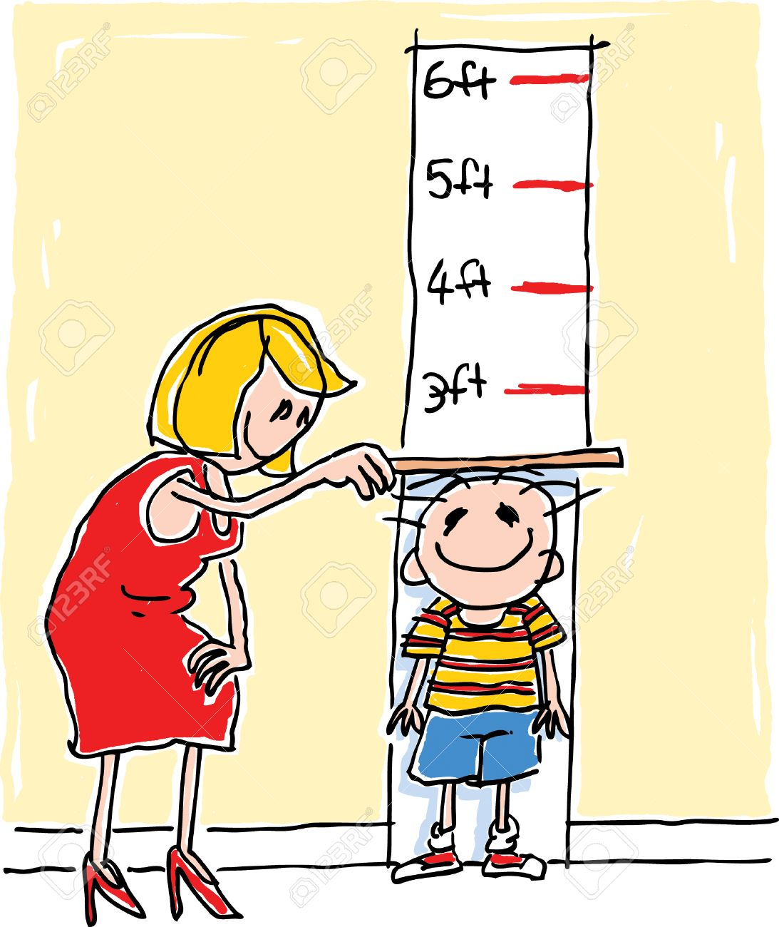 Height Chart Clipart.