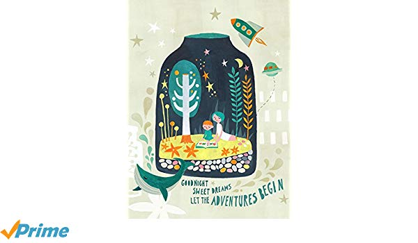 Amazon.com: Oopsy Daisy Terrarium Dreams by Irene Chan.
