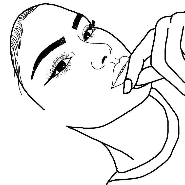 beauty art interesting doodle outline tumblr.