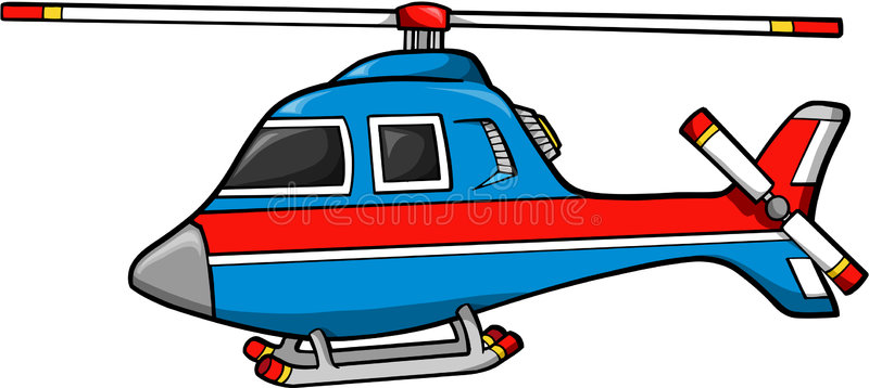 Rescue Helicopter Stock Illustrations.
