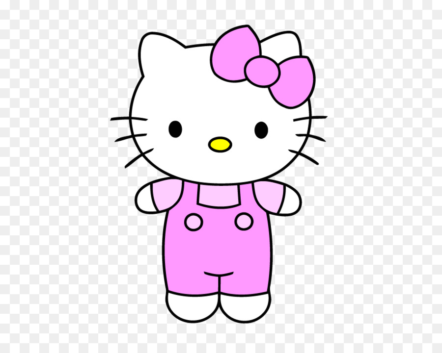 Hello Kitty Drawing clipart.