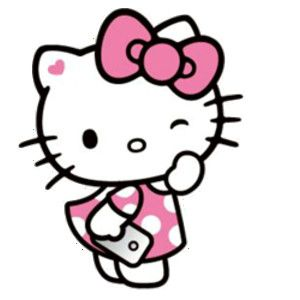 Hello kitty clipart.