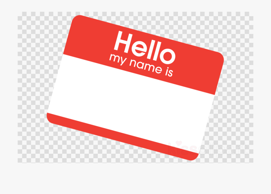 Transparent Hello My Name Is Png , Transparent Cartoon, Free.