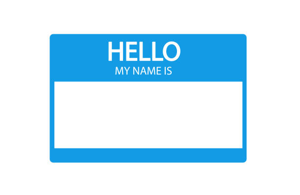 Hello my name is clipart 6 » Clipart Station.