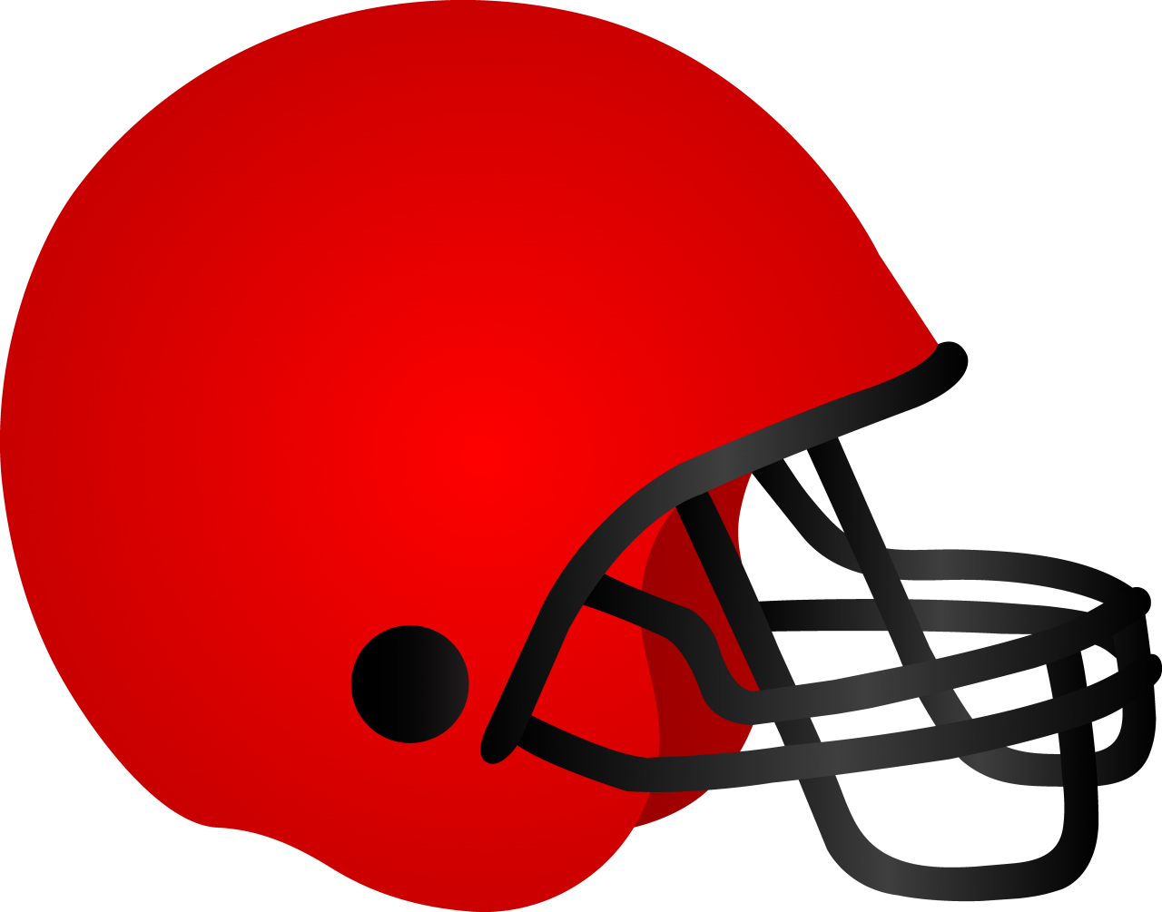 American Football Helm Clipart PNG Image.