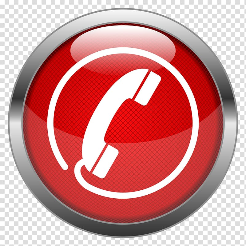 Red phone button art, Computer Icons Hotline Helpline, call.