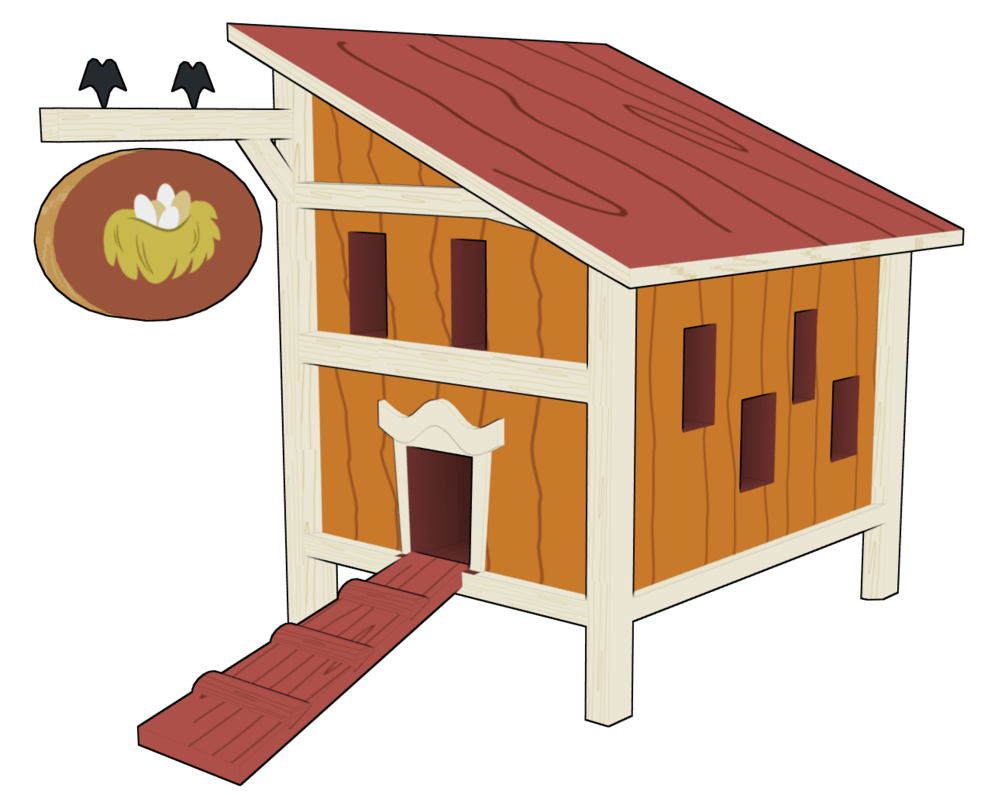 Hen House Cliparts.