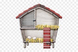Hen house clipart » Clipart Portal.