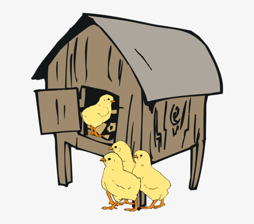 28 Collection Of Hen House Clipart.