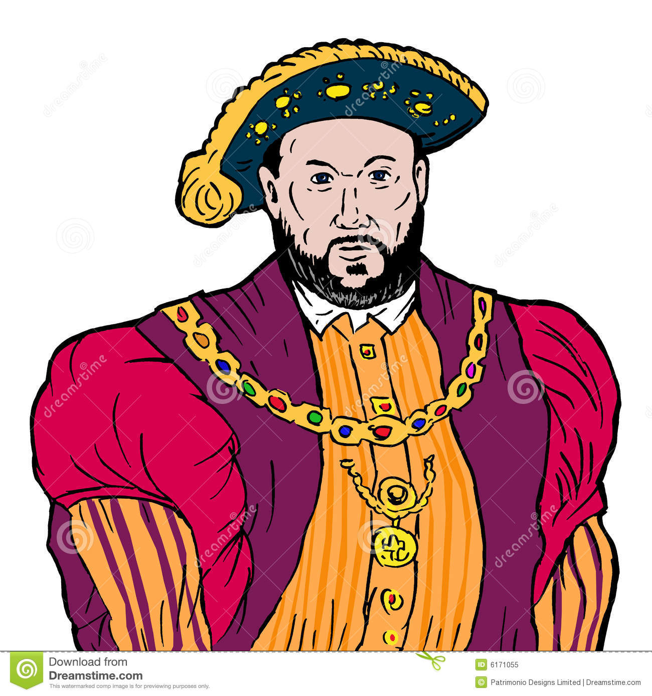 Henry viii clipart 1 » Clipart Station.