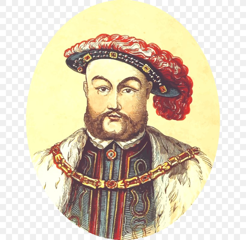Henry VIII Monarch House Of Tudor Clip Art, PNG, 646x800px.