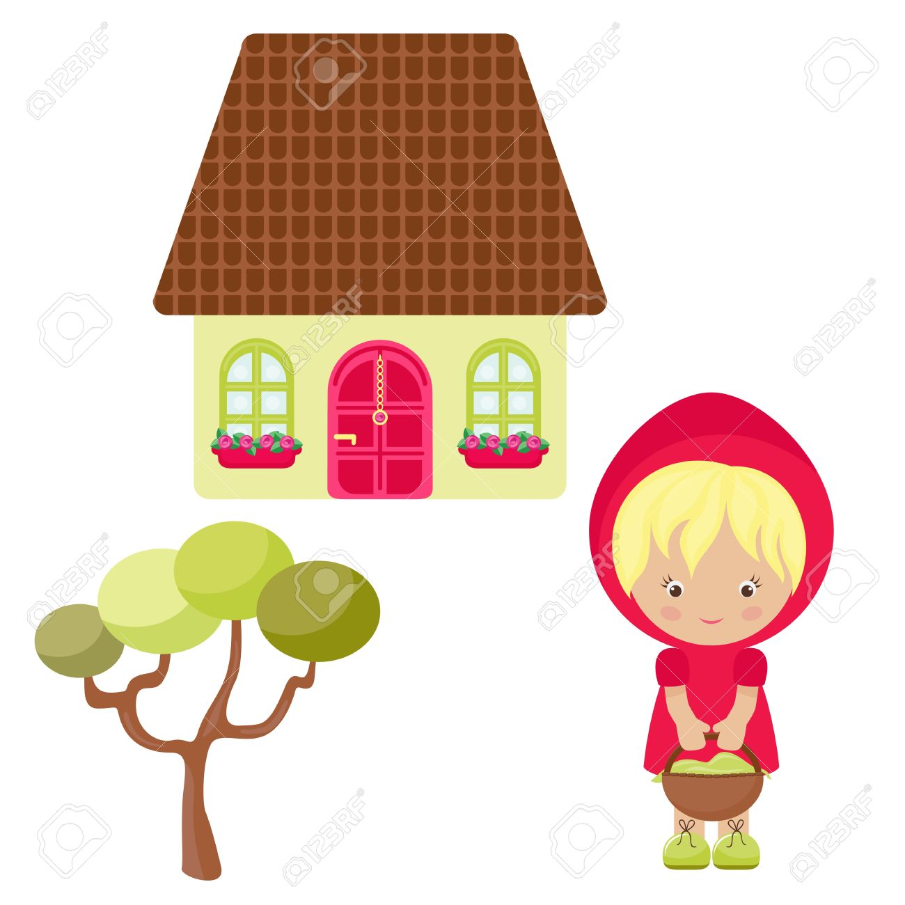 4,900 Little House Cliparts, Stock Vector And Royalty Free Little.