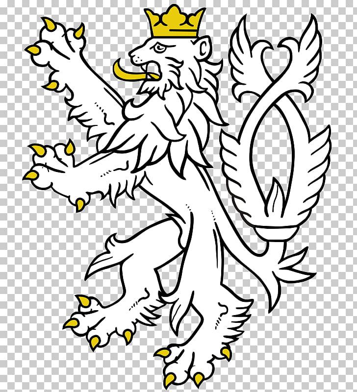 Lionhead rabbit Heraldry White lion , Heraldic PNG clipart.